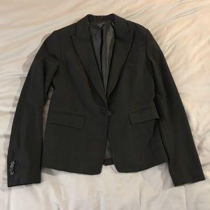 Black Ann Taylor Tailored Black Blazer